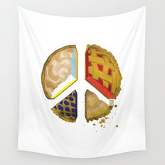 Pie of peace Wall Tapestry
