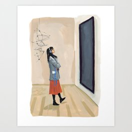 Modern Art Art Print