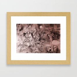 The Last Stand Framed Art Print