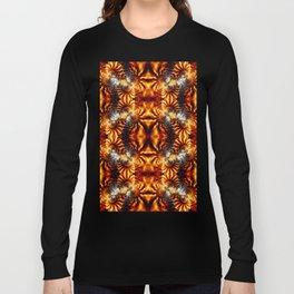 Fractal Art - Fire Pattern I Long Sleeve T-shirt