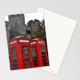 Phone Boxes in Canterbury Stationery Cards