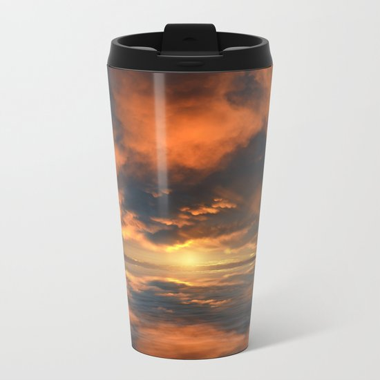 Magical Sunset II Metal Travel Mug