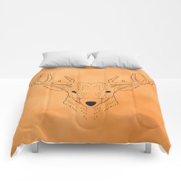 Deer Lines Comforters