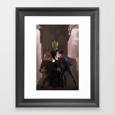 Paternoster Gang Framed Art Print