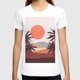 Abstract Landscape 12 Portrait T-shirt