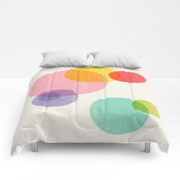 Rainbow Bubbles Comforters