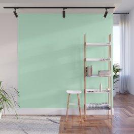 Summermint Pastel Green Mint Wall Mural