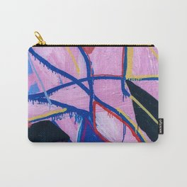 Washed Out Magenta Carry-All Pouch