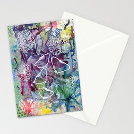 Depth of Music Stationery Cards