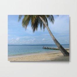 Isle of San Blas PANAMA - the Caribbeans Metal Print
