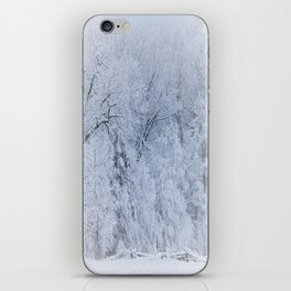 First Snow Fall Fresh Snow on Trees Nature Photography ~ Winter Hush iPhone Skin