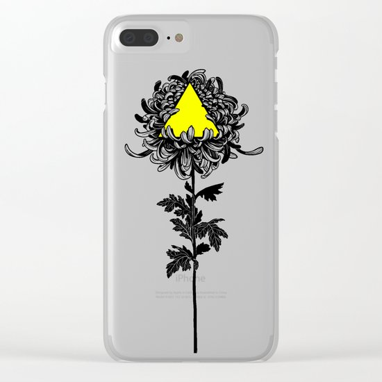 ChrysanThesis Clear iPhone Case