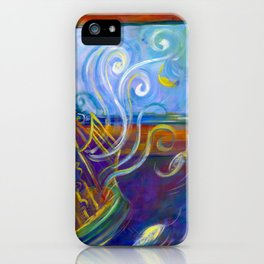Freedom to Live iPhone Case