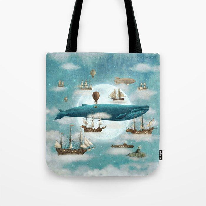 Ocean Meets Sky - revised Tote Bag