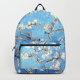 Vincent Van Gogh Almond Blossoms. Sky Blue Backpack