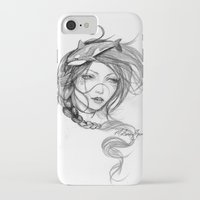 orca iPhone & iPod Cases featuring Orca by Mortimer Sparrow