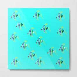 fish ### Metal Print