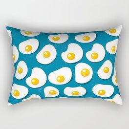 Fried eggs food pattern Rectangular Pillow