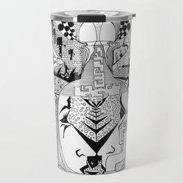 Blame The Bottle  Travel Mug