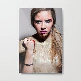 INES BLOOD Metal Print