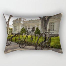 Vintage bikes Rectangular Pillow