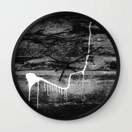 ABSTRACT URBAN LONDON BLACK AND WHITE PHOTOGRAPH Wall Clock