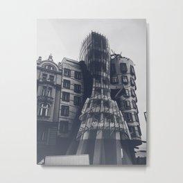 Dancing House Metal Print