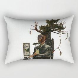 Money Doesn't Grow On Trees Rectangular Pillow