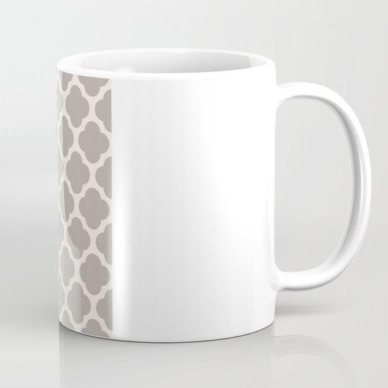 gray clover Mug