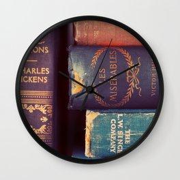 Sunday Reading Wall Clock