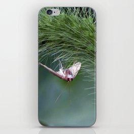 topsy turvy iPhone Skin