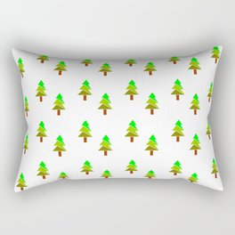 Christmas tree 5 Rectangular Pillow