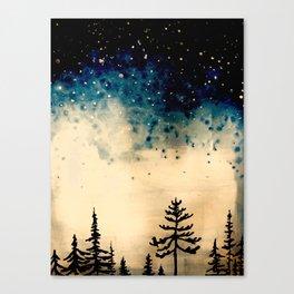 Boreal Bedtime Canvas Print