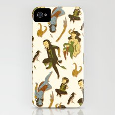 All the Lokis iPhone (4, 4s) Slim Case