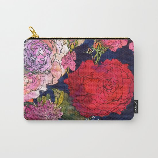 You Promised Me Roses Carry-All Pouch
