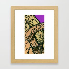 Two [diptych 2/2] Framed Art Print