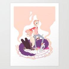 This Monkey's Gone to Heaven Art Print