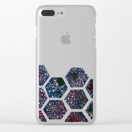Peaks into the Cosmos Clear iPhone Case