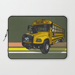 School bus Laptop Sleeve