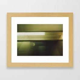 Blind Framed Art Print