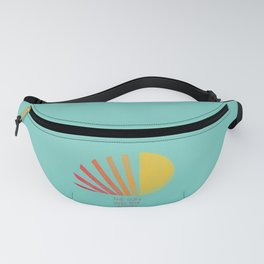 The Sun Will Rise Again Fanny Pack