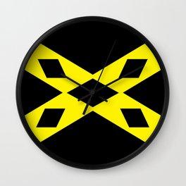 wigtownshire flag symbol Wall Clock
