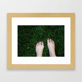 Feel The Earth Framed Art Print