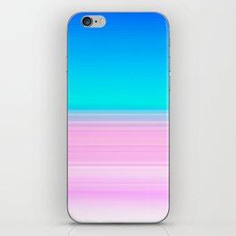 Unicorn Ombre iPhone Skin