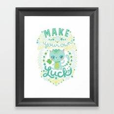 lucky 13 Framed Art Print
