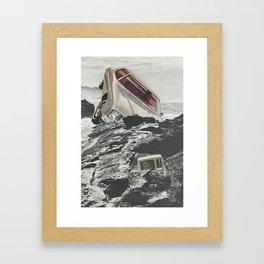 Computer Crash Framed Art Print