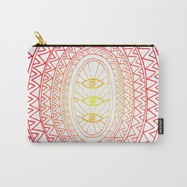 Three Eyes Carry-All Pouch