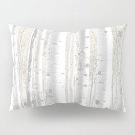 Pale Birch Trees 255 Pillow Sham