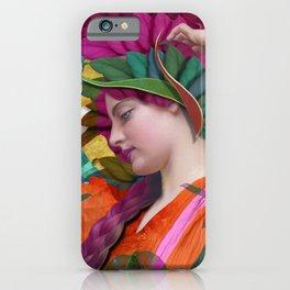 Pallas Athena Botanical iPhone Case