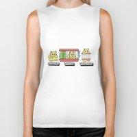 hamster Biker Tanks featuring hamster by tavislea